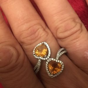 Jewelry - Sterling Silver Genuine Citrine Ring